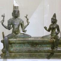 Siva et Parvati, bronze, musée Guimet