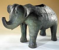 Vase rituel zun en forme d'éléphant, musée Guimet